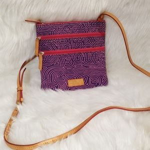 Dooney & Bourke Purple/Pink Crossbody